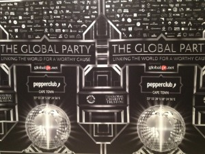 The Global Party banner Whale Cottage Portfolio