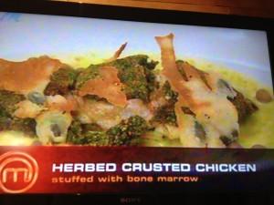 MasterChef  2 7 Herbed crusted chicken Whale Cottage Portfolio