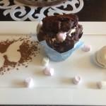 65 on Main Marshmallow choc chip cupcake Whale Cottage Portfolio