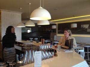 De Brasserie Bar counter Whale Cottage Portfolio