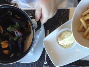 De Brasserie Mussels Whale Cottage Portfolio