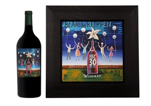 Blaauwklippen Blending Competition Bottle and Frame