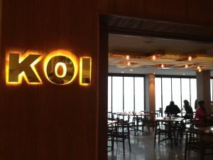 KOI Entrance Whale Cottage Portfolio