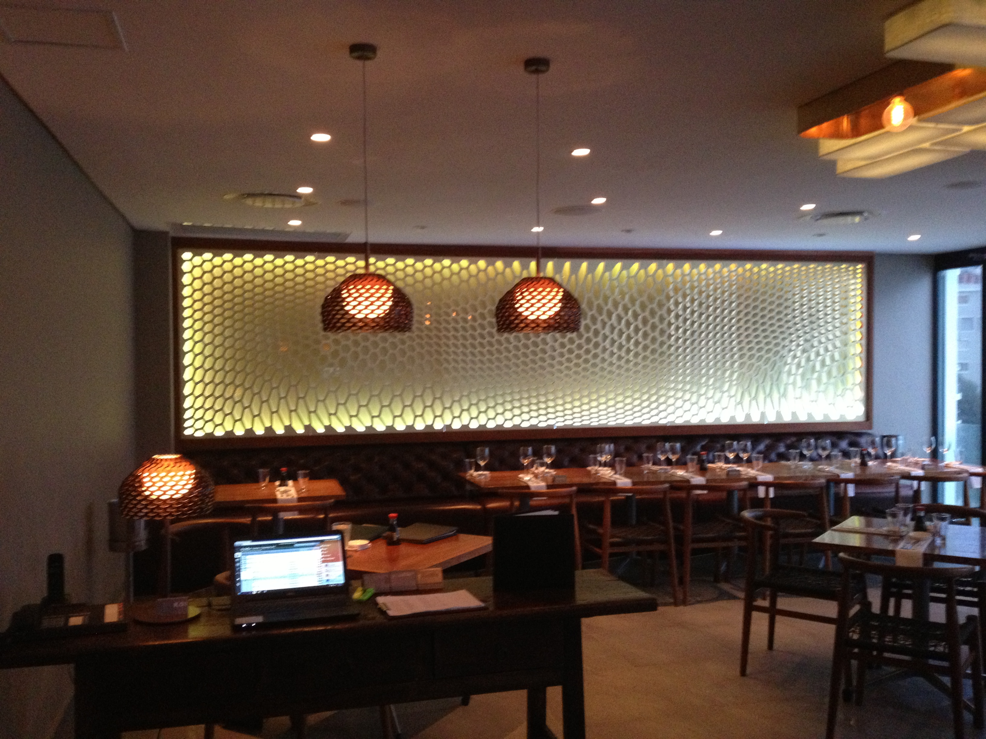 Restaurants Feature Wall Designs: Restaurant Review: There Are No Koi At KOI Bantry Bay