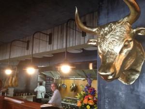 La Parada Kitchen with Bull head Whale Cottage Portfolio