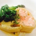 Chenin Blanc Salmon en croute Whale Cottage Portfolio