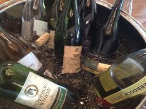 Chenin Blanc bottles Whale Cottage Portfolio