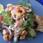 Mondiall Seafood ceviche Whale Cottage Portfolio