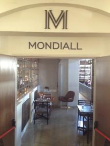 Mondiall entrance Whale Cottage Portfolio