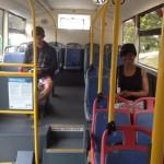 My CiTi Bus seats Whale Cottage Portfolio