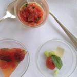 Springfontein Eats Trio Tomato Amuse Bouche 1 Whale Cottage Portfolio