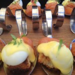 Saronsberg Salmon Eggs Benedict Canape Whale Cottage Portfolio