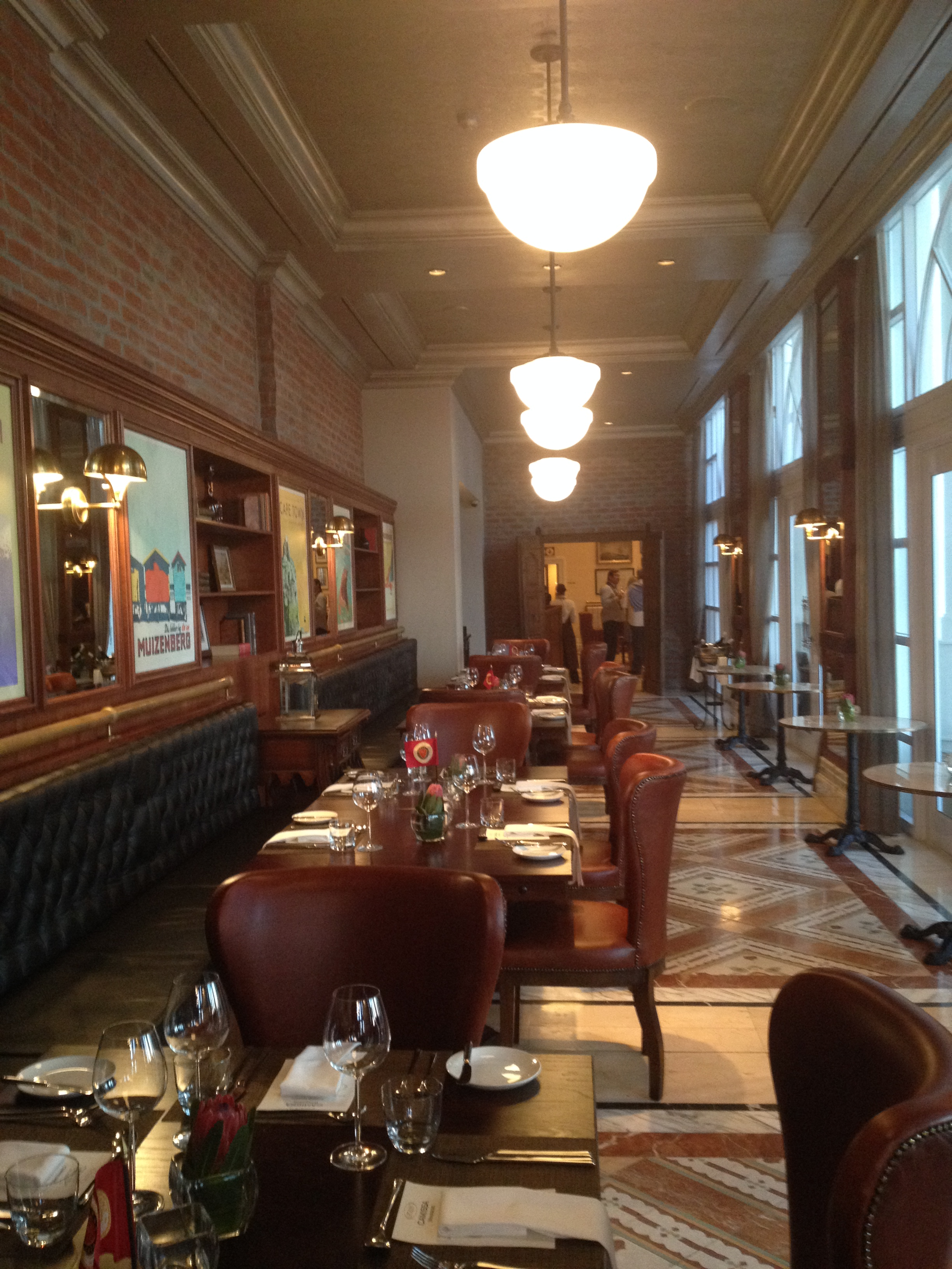 Camissa Brasserie At Table Bay Hotel Chic Interior Does Not Live Up To 39 Cape Heritage Food