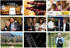 Cape Wine Auction collage of pictures