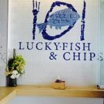 Lucky Fish Logo Whale Cottage Portfolio