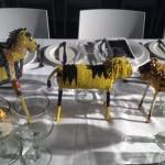 WDC2014 Gala Dinner Yellow beaded animals Whale Cottage Portfolio