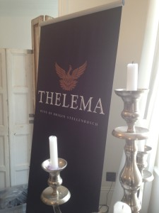 Thelema Banner and candle Whale Cottage Portfolio