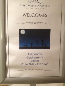 12 Apostles Astronomy Gastronomy Poster Whale Cottage Portfolio