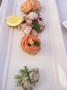 Seafood at The Plettenberg Cape Seafood Plate Whale Cottage