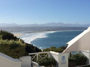 Seafood at The Plettenberg View ocean Whale Cottage