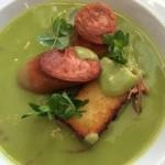 Borage Bistro German Pea soup Whale Cottage