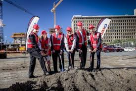 Cape Town International Convention Centre sod turning