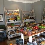 Crisp Fresh veg and fruit Whale Cottage