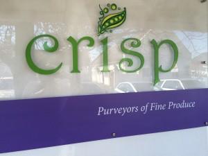 Crisp signage Whale Cottage