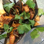 Grande Provence Tapas Vietnamese pickled mussels Whale Cottage