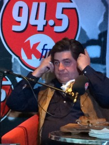 Kfm Matt Preston headphones Whale Cottage