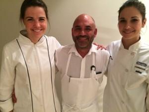 Tokara Leandri, Chef Richard Carstens, Seline Whale Cottage