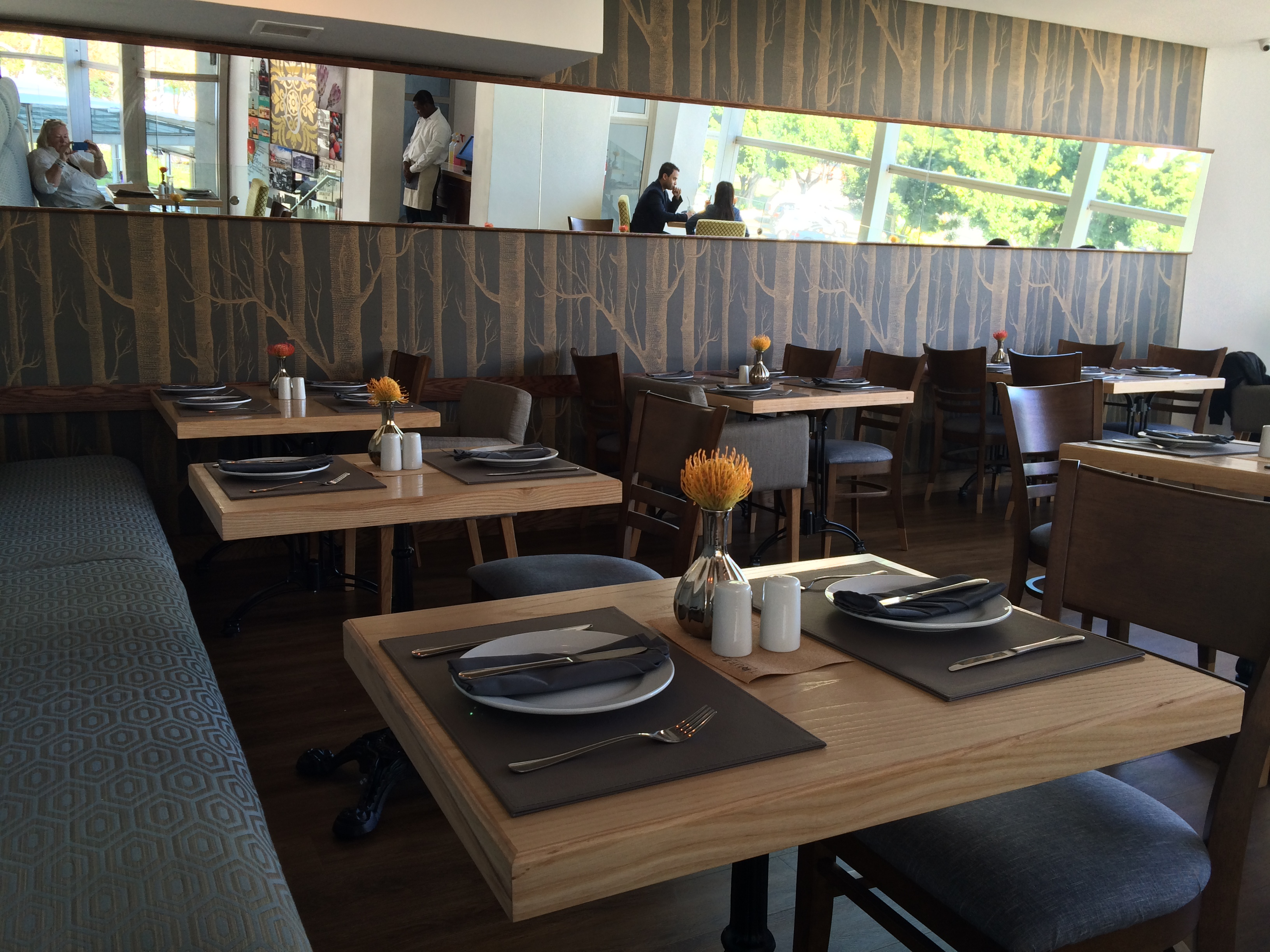 Restaurant review truffle first star halaal fine