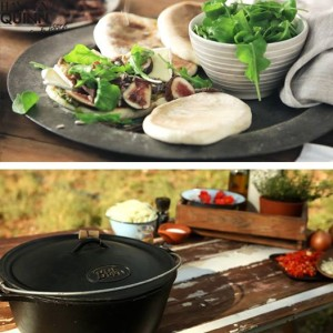 Hayden Quinn 8 Potjie and mini-pizza