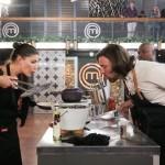 MasterChef 3 5 Claire Allen Chef Niklas blowing