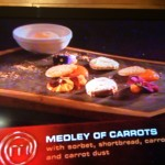 MasterChef 3 5 Roxi Medley of Carrots Whale Cottage