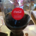 Riedel Coca Cola glass Whale Cottage
