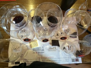 Riedel Tasting sheet Whale Cottage