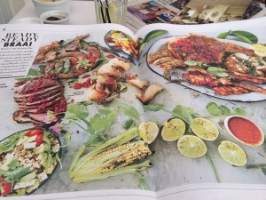 Woolworths Good Food News Brais double page Whale Cottage