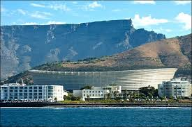 Cape Town Stadium and Table Mountain