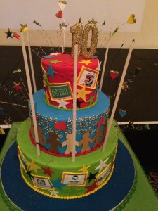 CapeTownTourism AGM Cake Whale Cottage