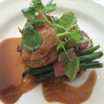 FNB Sauvignon B Duo of duck Whale Cottage