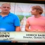Hayden Quinn 13 Durban Derek Cucumbers Whale Cottage