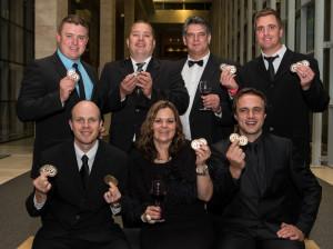 Veritas Wine top achievers