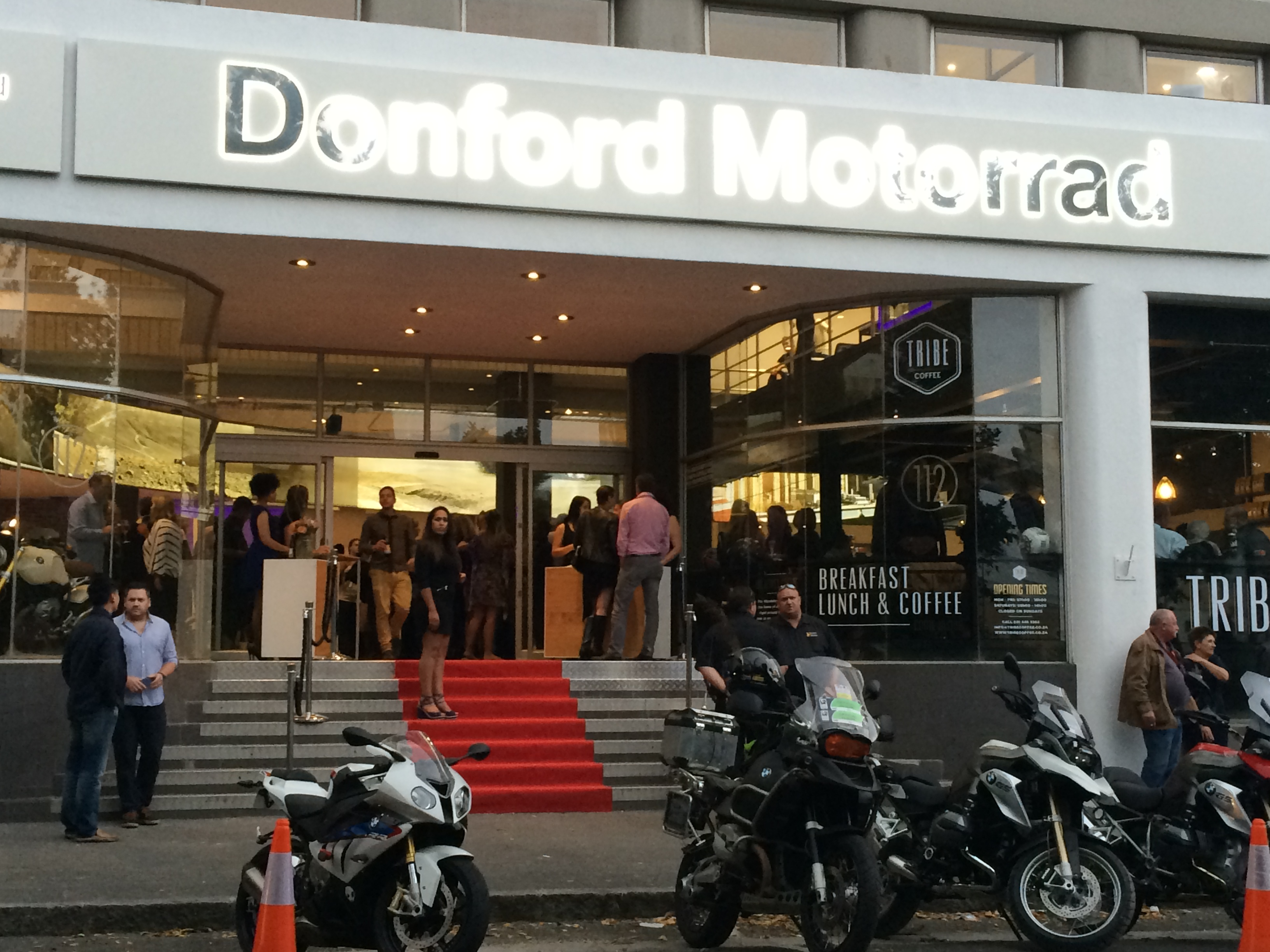 Donford Bmw Motorrad Opens Flagship Lifestyle Showroom In Cape Town