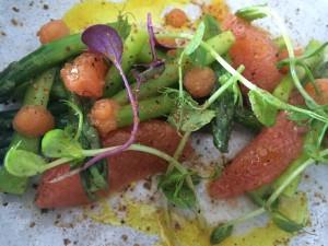 Ryan's Kitchen Asparagus salad Whale Cottage