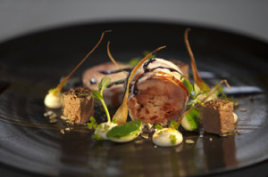 Grand Provence Darren Badenhorst's - San Pellegrino rabbit dish LR