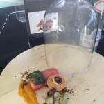 Young Chef Sanjay salmon dish Whale Cottage
