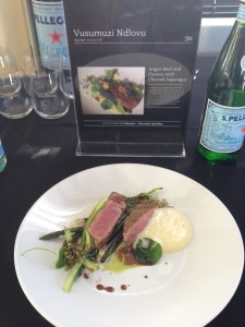 Young Chef Vusi dish Whale Cottage