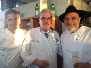 Young Chef judges Whale Cottage