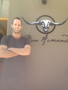 Don Armando Logo and Chef Dan Whale Cottage
